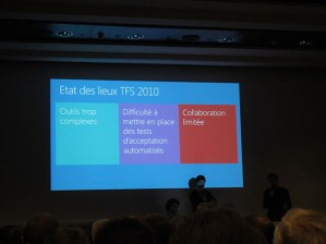 TechDays 2013 Pattern Agiles avec Visual Studio 2012 et TFS 2012