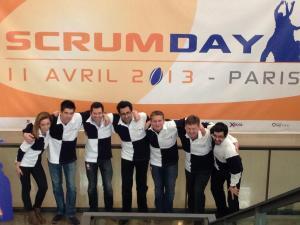 équipe FSUG Scrumday 2013