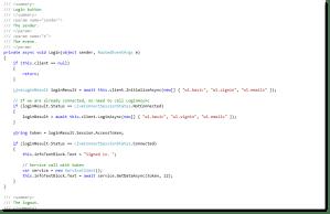 client side application windows 8