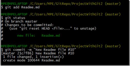 fichier Git