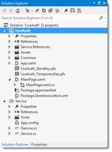 project application windows 8