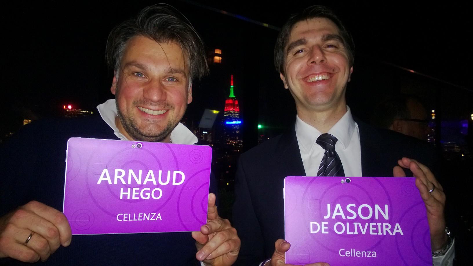Arnaud et Jason au launch VS 2013