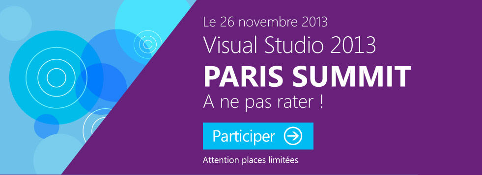 Retour sur le lancement de Visual Studio 2013 Paris Summit