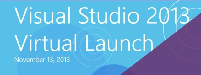 Lancement Visual Studio 2013