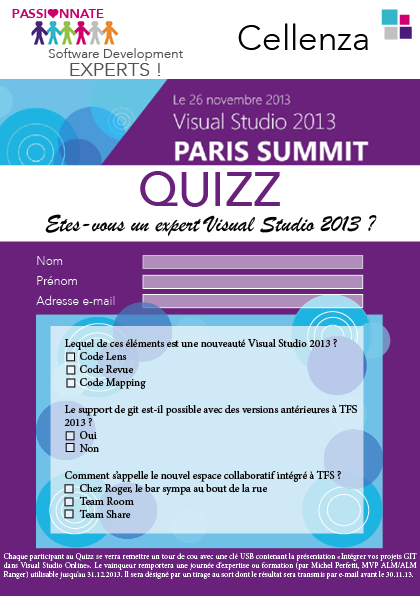 quizz vs 2013 paris
