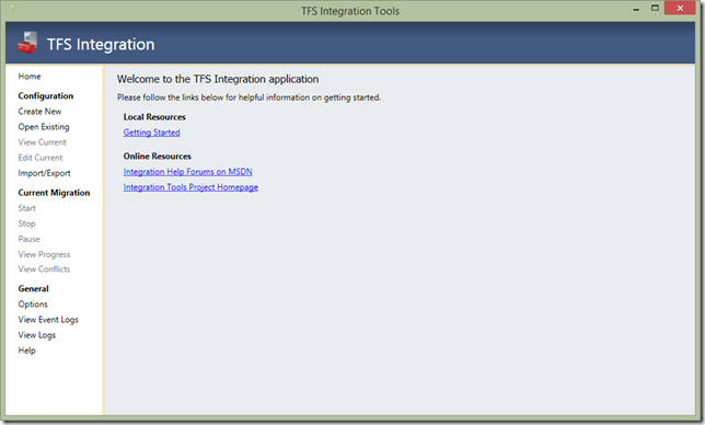 tfs integration platform