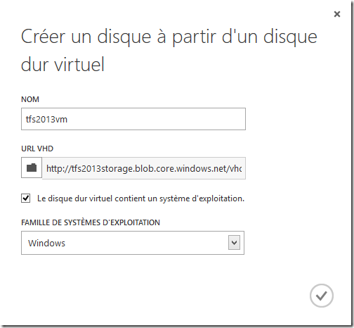configure disk