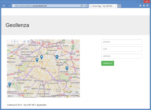 Screenshot Geollenza