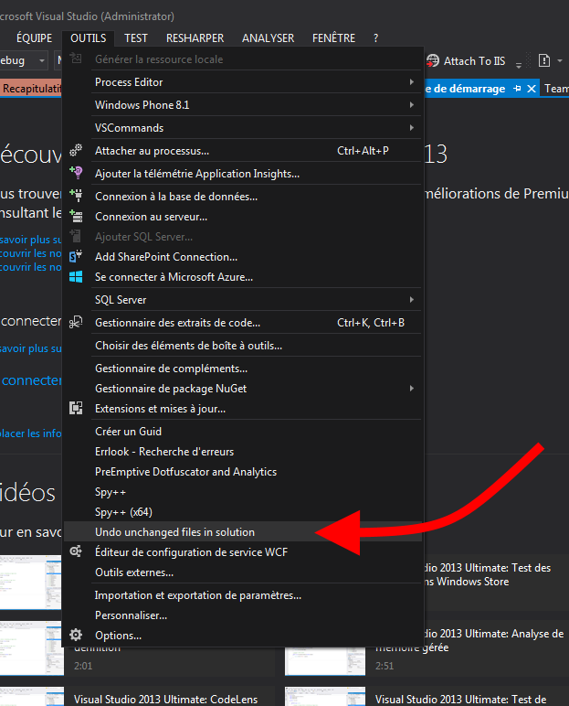 Visual Studio - External Tools