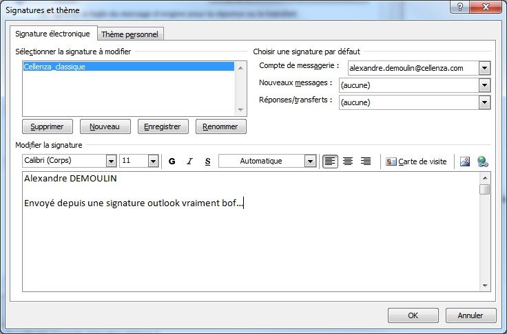signature on outlook