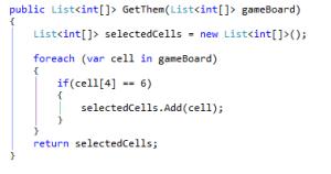 SelectCells