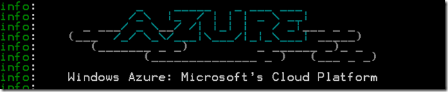 Test du client Azure en ligne de commande