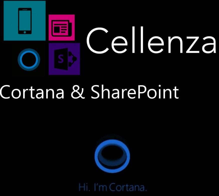 Retour sur l'événement Cortana et SharePoint : from Zero to Hero