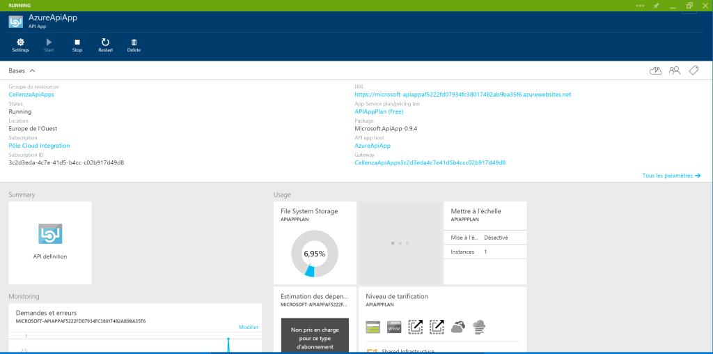 API App portal