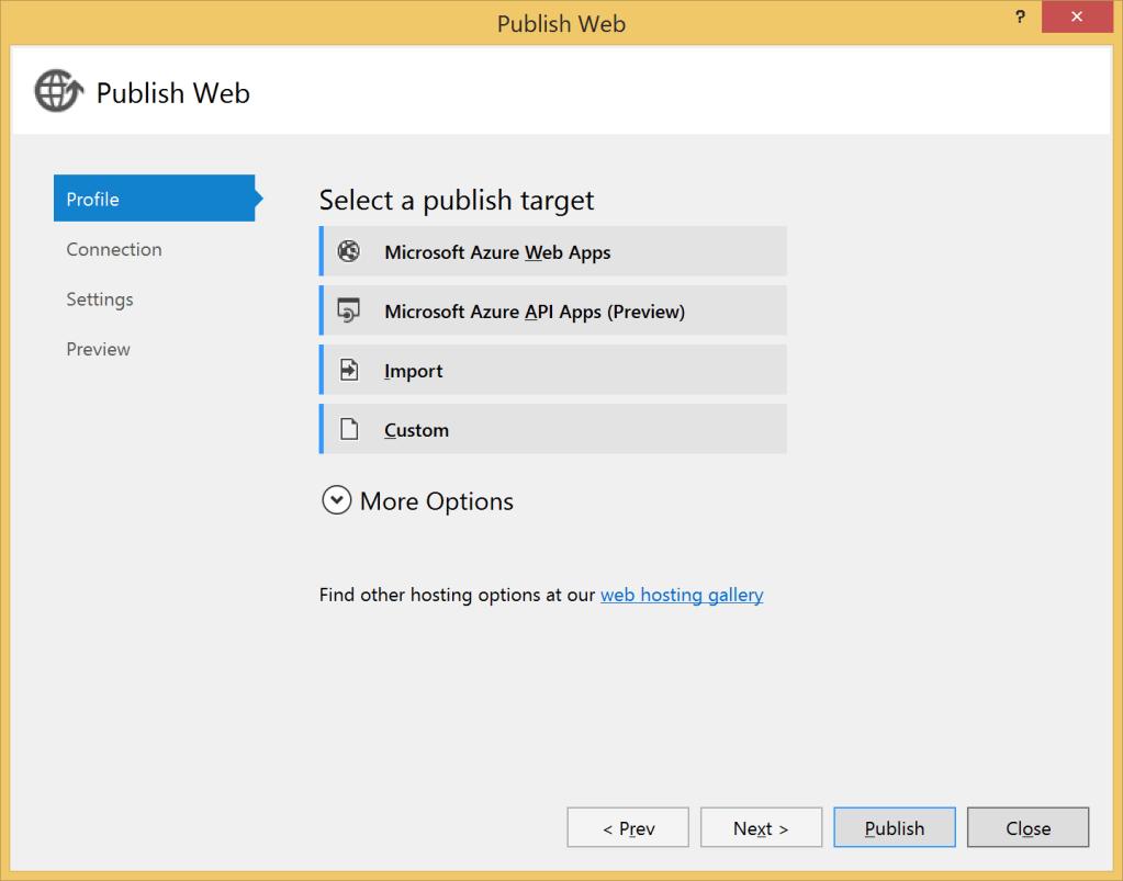 Publish API App