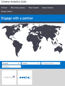 Screenshot Site Partner