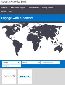 Screenshot Site Partner