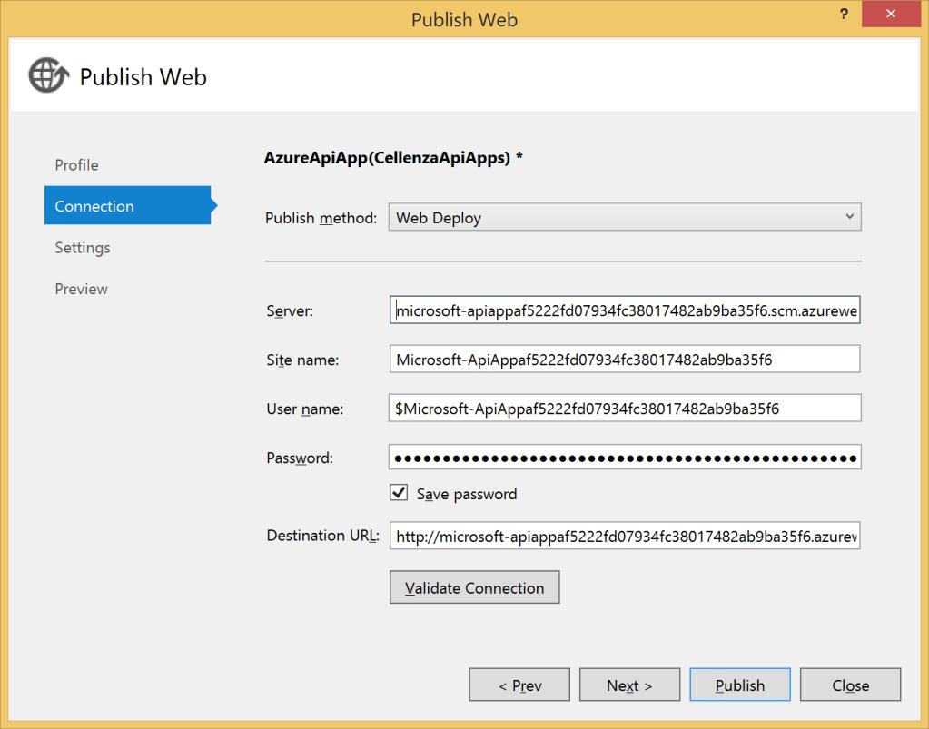 API App Web Deploy