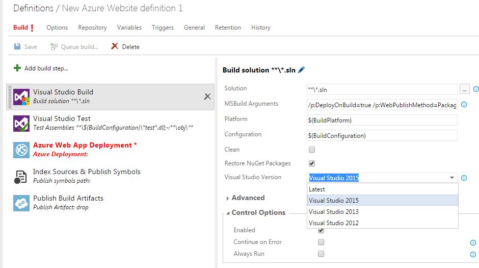 build vnext Compilation