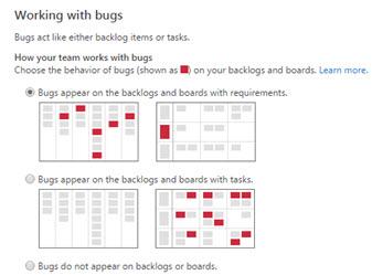 Configurer l'affichage des Bugs dans le backlog et le Kanban board dans TFS