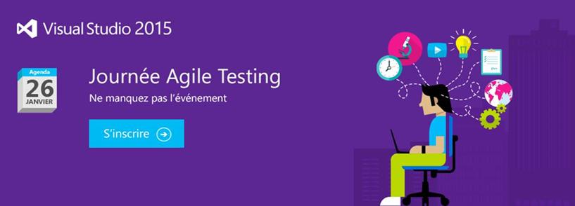 "Journée ""Agile Testing"" @Microsoft"