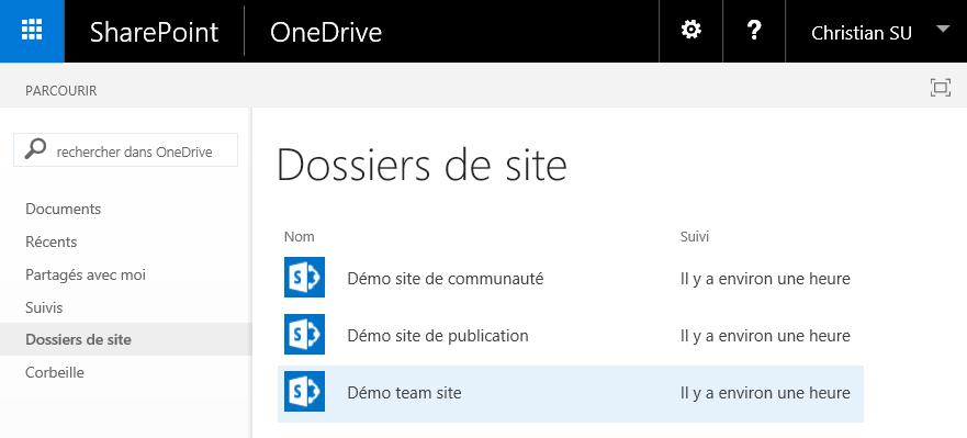 Synchronisez les fichiers de vos sites favoris avec OneDrive