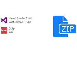 Créer un fichier Zip de déploiement dans une définition de build