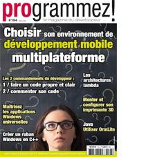 Articles Programmez! #194