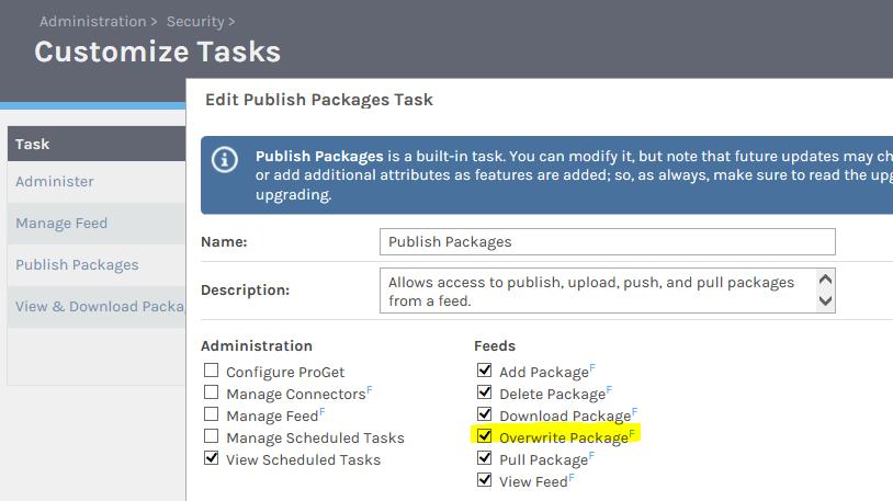 Déployer vos packages dans ProGet avec TFS/VSTS - customizetask