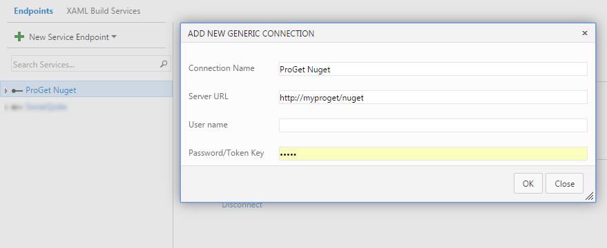 Déployer vos packages dans ProGet avec TFS/VSTS endpoint
