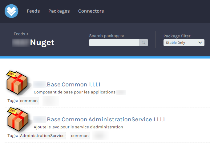 Déployer vos packages dans ProGet avec TFS/VSTS - nugetfeed2