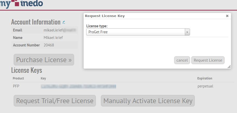 Déployer vos packages dans ProGet avec TFS/VSTS proget_licence