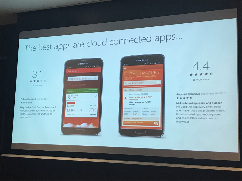 Xamarin Partner Summit app evolution example