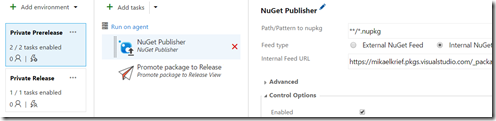 nuget release 1