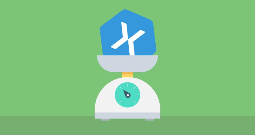 Réduire le poids des applications Xamarin