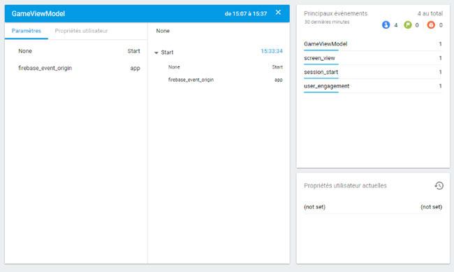 Les Events avec Firebase