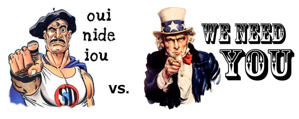 security champion différence entre les USA et la France