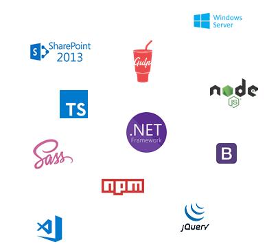 technologies développement moderne sous SharePoint