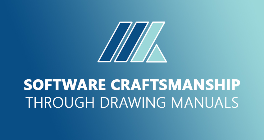Software craftsmanship through drawing manuals