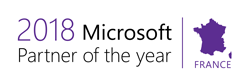 Partenaire of the Year Microsoft