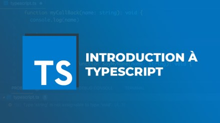 Introduction à TypeScript