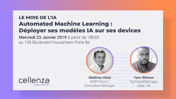 Déployer ses modèles IA sur ses devices Automated Machine Learning