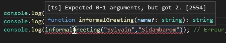 article t les fonctions dans typescript