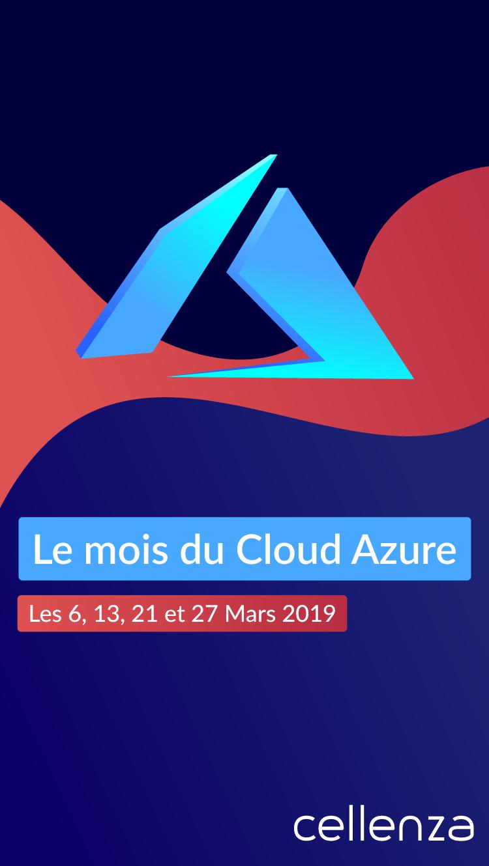 le mois du cloud Azure chez Cellenza