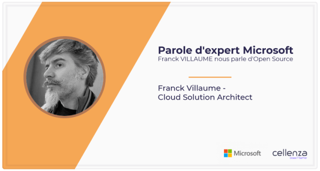 Parole d'expert Microsoft : Franck VILLAUME nous parle d'Open Source