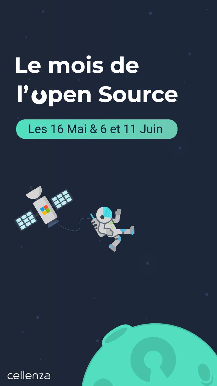 Le mois de l'open source chez Cellenza