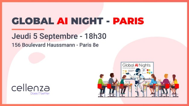 Global AI night – Une soirée pour se lancer dans l'IA