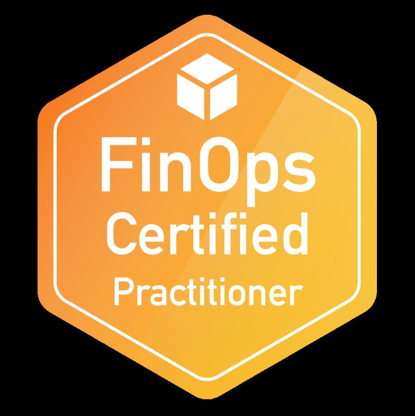 Badge FinOps Certified Practitioners de Benoit Sautière