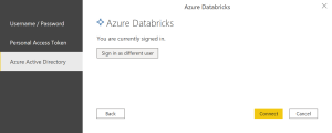 Connexion au cluster Azure Databricks