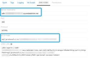 Exemple de construction d'url pour connexion au cluster